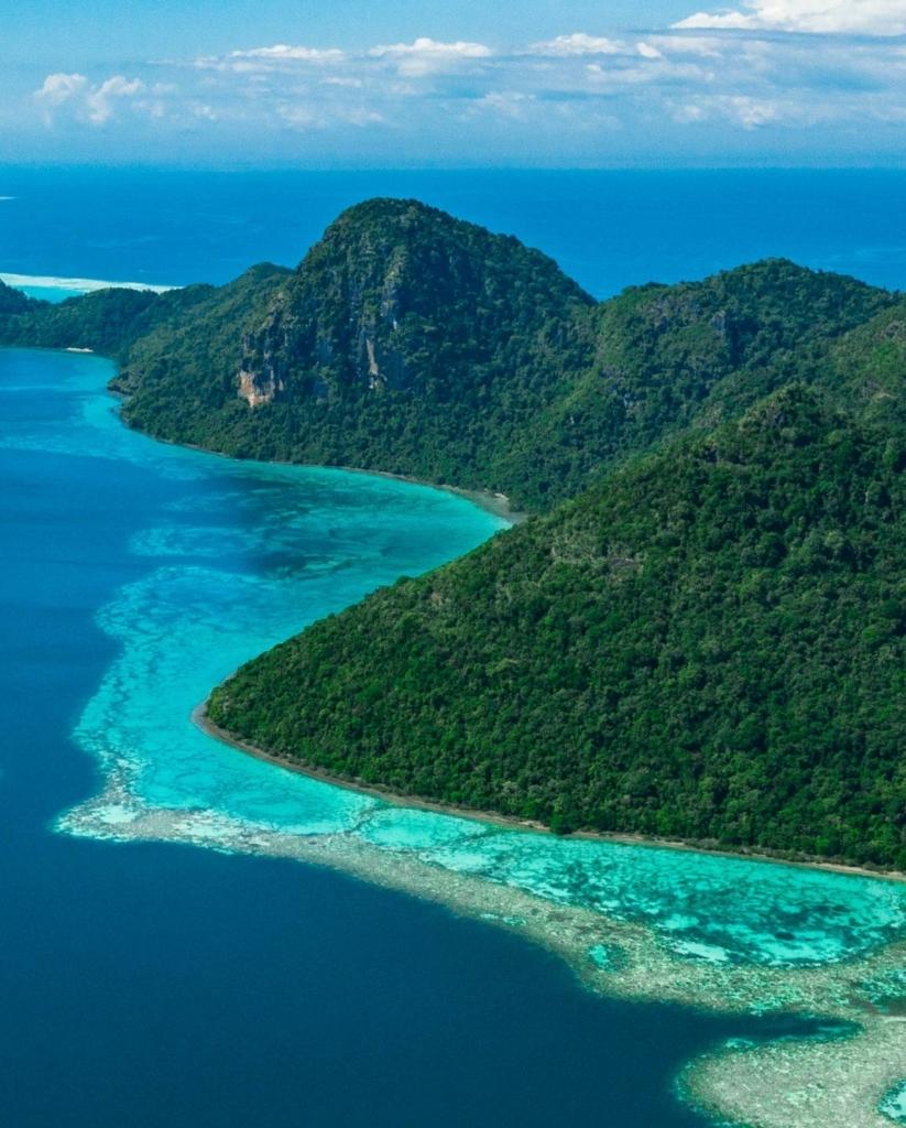 Paesaggio Polynesia Visconti