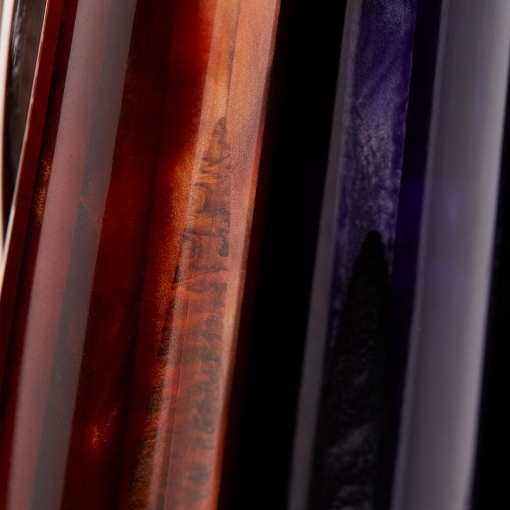 Particolare corpo penna Visconti collezione Voyager