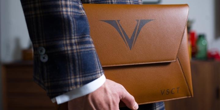 Porta tablet Visconti lavorato artigianalmente