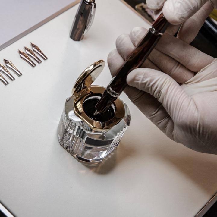 Pulire e mantenere una penna da collezione