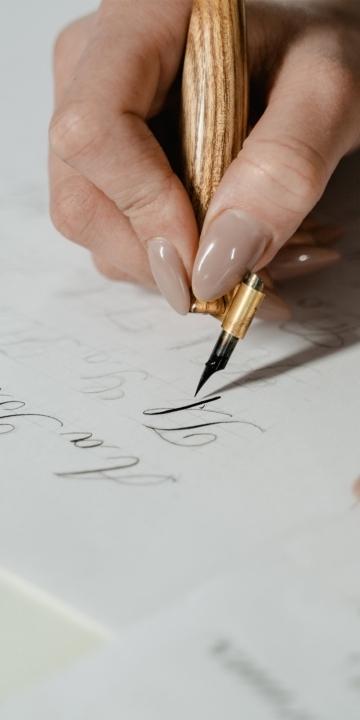 Calligrafia e scrittura